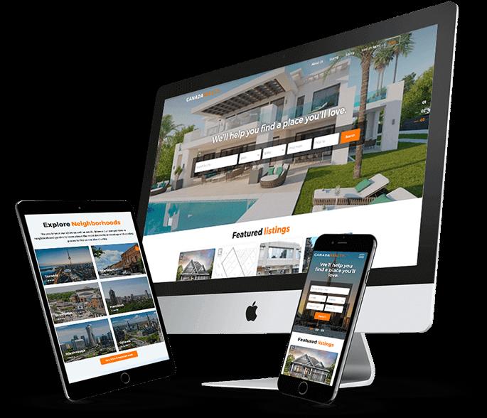 real estate agents wordpress website
