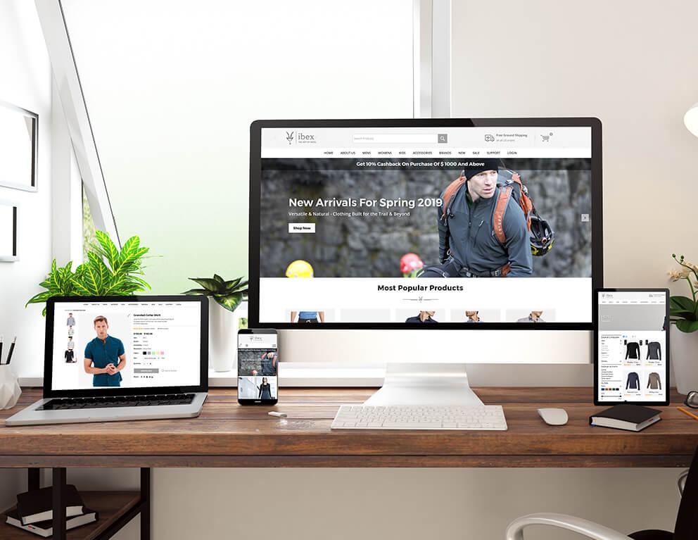 responsive web development services